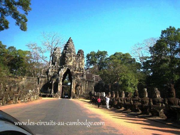 Temple Bayon .temple Angkor