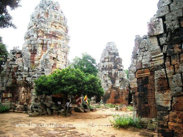 Temple Prasat Banon Battambang..temple Angkor