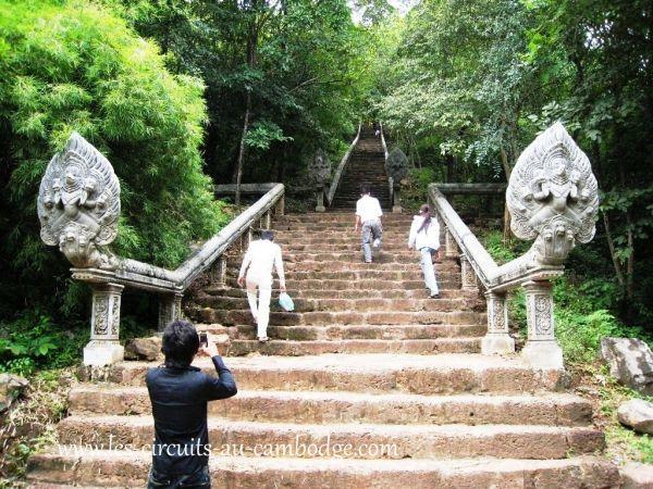 Temple Prasat Banon Battambang.temple Angkor