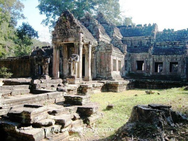 Temple Prek Khan Angkor Siem Reap.temple.Angkor