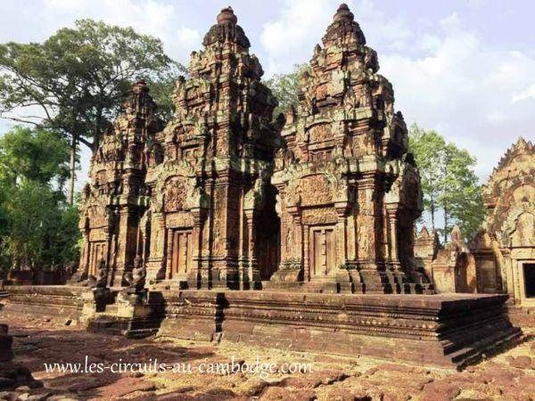 Temple De Banteay Sre Angkor.temple